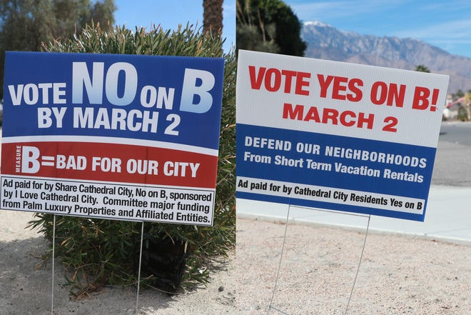 Cathedral City voters voted on Measure B last week after a hard-fought campaign.