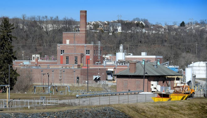 The City of York's wastewater treatment plant Wednesday, March 3, 2021. The York City Council on Tuesday approved the sale of its wastewater treatment system. Bill Kalina photo