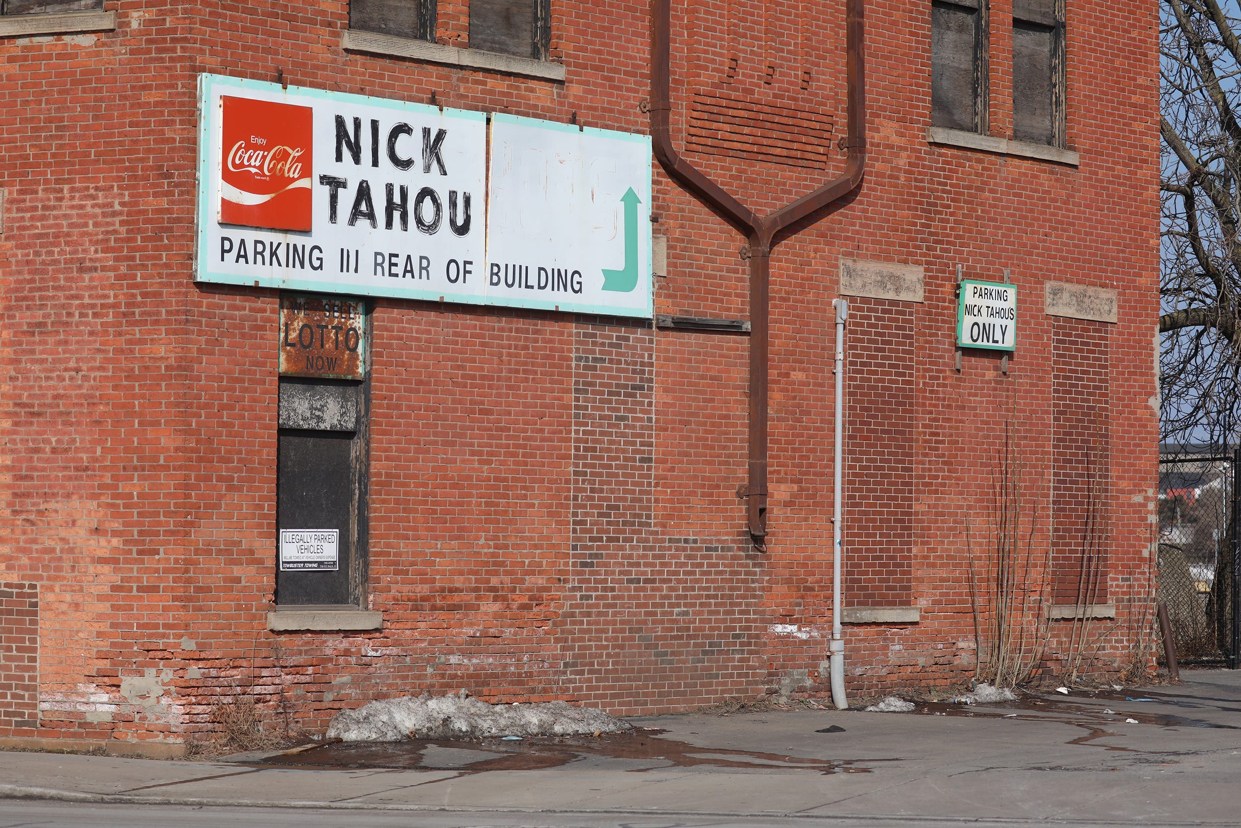 When regulars think Nick Tahou Hots, they think of this iconic brick building and its vintage sign. The building, now up for sale, was once...