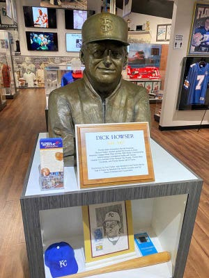 This Dick Howser display is one of the many that will be showcased at the new home of the Florida Sports Hall of Fame Foundation in Port St. Lucie.
