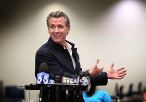 State officials say if more than 50% vote to recall Gov. Gavin Newsom, he will be removed from office. If 50% or more vote no, Newsom will stay.