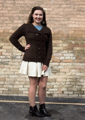 Watertown teen Holley Schwartz 2021 represented Wisconsin in the National Make It WithWoolcompetition, earning high placements.