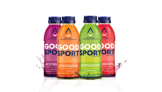 The GoodSport product is a new sports drink that's 97% dairy.