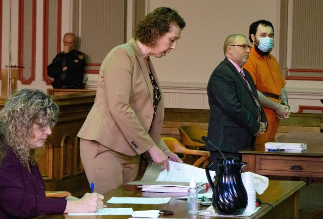 Joshua Leckrone was sentenced to life in prison with the possibility of parole after 10 years Wednesday for the rape of a young boy.