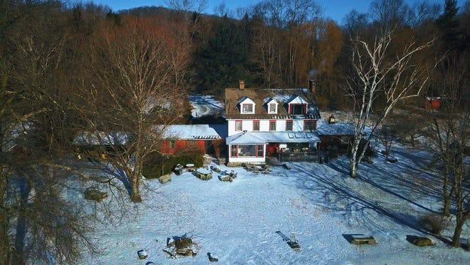 Mia Farrow's Connecticut home