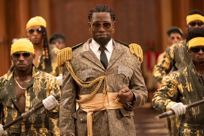 """Wesley Snipes stars as the eccentric General Izzi in the sequel """"Coming 2 America."""""""