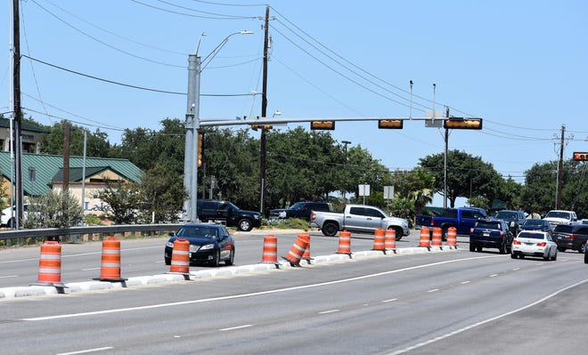 Lakeway Mayor Sandy Cox says concrete dividers added to RM 620 improve safety and gives residents a preview of the future widening project on the road.