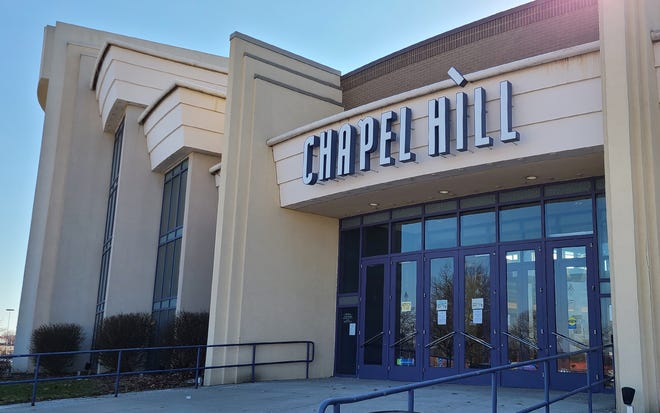 Chapel Hill Mall in Akron, Ohio on Wednesday March 3, 2021.