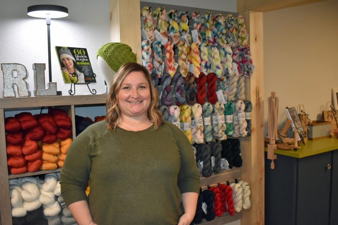 Rochelle Nickolay has opened a yarn shop, The Knittery Nook & Fibre Co., in Suite 115 of the Town Center building, located at 328 Main St.,in downtown Ames.