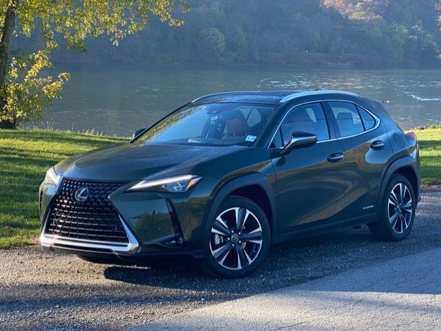 The 2020 Lexus UX 250h Luxury is a small but mighty vehicle.