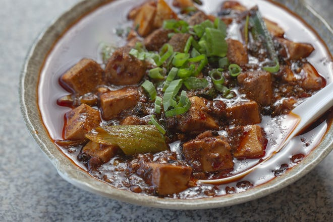 Ma Po Tofu from Chilispot in the Kenny Centre Mall. (Photo by Tim Johnson)