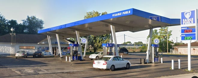 Eagle Fuels, 3850 E. Livingston Ave. on the city's East Side, was the site of a recent fatal shooting.