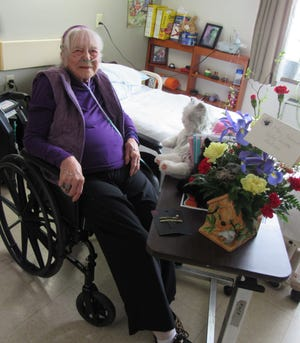 Valley Health Services resident Mary Shaw Mamrosh celebrated her 100th birthday March 3.