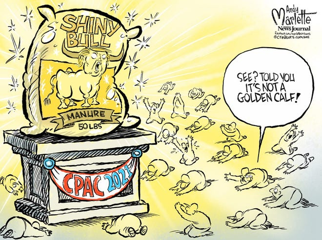 An Andy Marlette cartoon about the CPAC