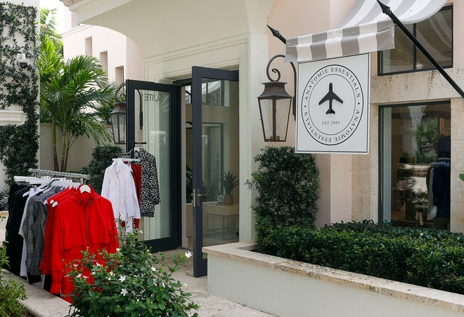 """The Anatomie pop-up is located in Via Flagler by The Breakers. The company's mission is """"to outfit the global traveler — and everyday adventurer — in the most comfortable and stylish performance apparel."""""""