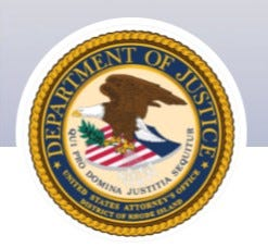 US Attorney's seal.