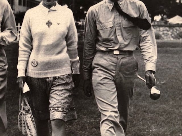 Alex Welsh (8) and his wife, Mary (Wilder) Welsh (7), won a combined 15 Rockford Men's and Women's City golf titles. Alex Welsh was also the state high school champ for Rockford High School in 1938 and the 1941 Big Ten medalist at Illinois and is our pick for the No. 3 greatest golfer in Rockford-area history.