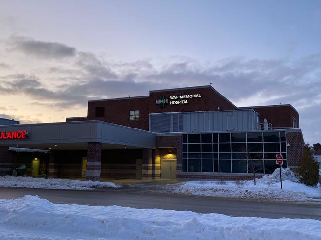 War Memorial Hospital in Sault Ste. Marie.