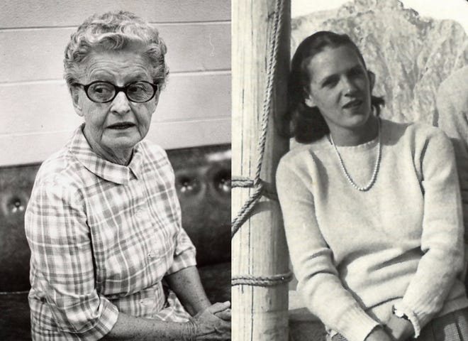 """Leora Hiatt """"Billie"""" McEachern (left) and Isabel WIlliams (right) were two of the women who researched, published and forever contributed to the Cape Fear's understanding of its history."""