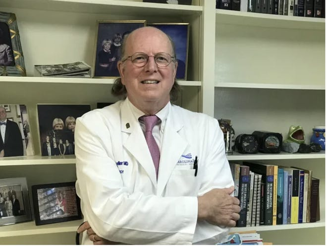Dr. Rad Moeller, local rheumatologist and North Carolina Rheumatology Association, has been an advocate for the Pfizer and Moderna vaccines since they came out. He says that while the Johnson & Johnson vaccine isn't quite as effective, it will still keep you alive and out of the hospital and should be embraced  when it comes to the county.