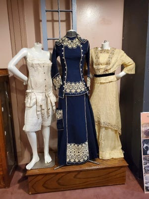 """A virtual tour of the Mill Museum's """"Unlacing the Corset, Unleashing the Vote"""" exhibition will be held at 7 p.m. March 13. Guests can learn about the history of the binding garments that once held women bound to society's rules and expectations. The exhibit shares the story of how the Women's Suffrage Movement and the passage of the 19th Amendment in 1920, which granted women the right to vote, impacted their lives and fashions during the past 100 years."""