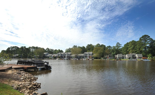 This is how the Woodlake community looked in 2012. [File photo]