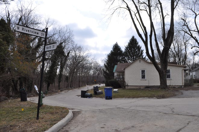 The city of Dublin is buying eight parcels on both sides of North Riverview Street, just west of the Scioto River and just north of Bridge Street, for $1.95 million to continue the development of the Bridge Street District.