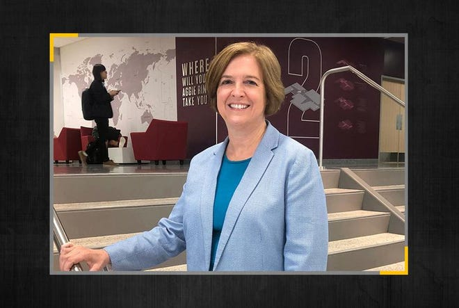 M. Katherine Banks, dean of the Texas A&M engineering school, has been named the sole finalist for president of the flagship university.