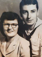 Jane and Norris Gronert were married July 9, 1951, in Corpus Christi, Texas.
