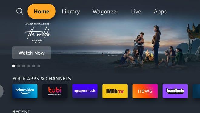 Amazon Fire TV se integrará con el sistema de información y entretenimiento Uconnect 5 con Android de Stellantis NV en los nuevos Wagoner Jeep y Grand Wagoner.