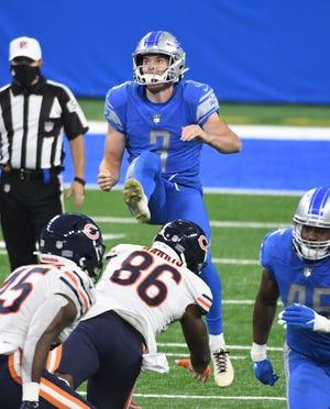 Lions punter Jack Fox was a Pro Bowl selection.