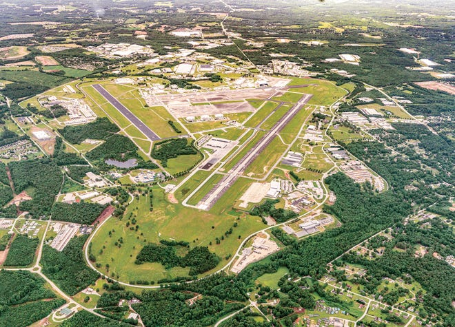 Donaldson Field airport is the anchor of South Carolina Technology & Aviation Center.