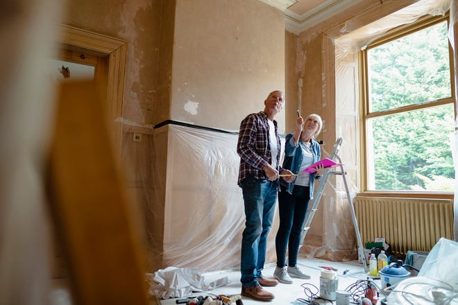 Borrowers can finance renovations that cost up to 75 percent of a home's value after renovations, as long as they qualify for the total loan amount.