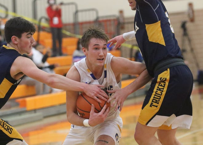 Ontario's Griffin Shaver was a first team All-Northwest District selection in Division II.