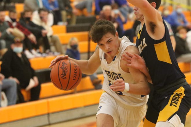Ontario's Zach McCristall's hard work took him from junior varsity player as a junior to a varsity starter and key defensive player as senior for the Warriors which earned him a sport in the 42nd News Journal All-Star Classic.