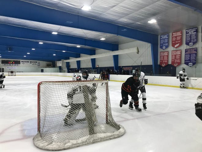Plymouth freshman goalkeeper Tanner Olepa stepped up in the overtime period, failing to allow a goal despite Brighton earning a power play with 93 seconds left.