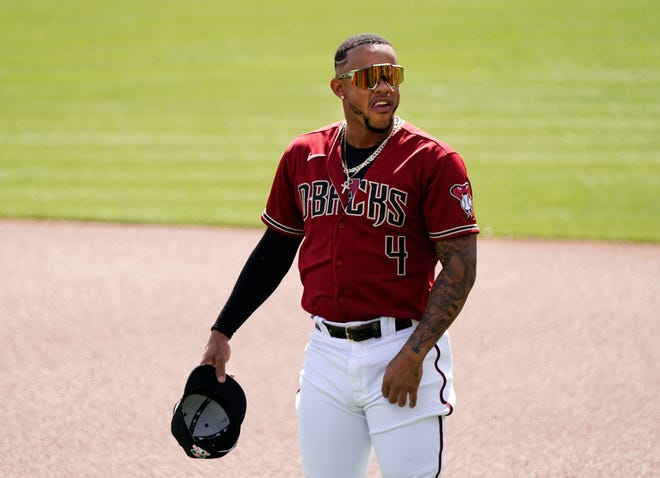 Ketel Marte is 9 for 18 (.500) with four doubles and a home run so far this spring. He also has drawn two walks.
