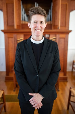 Margaret Fox is the new reverend at First Presbyterian Church on North Adams Street.