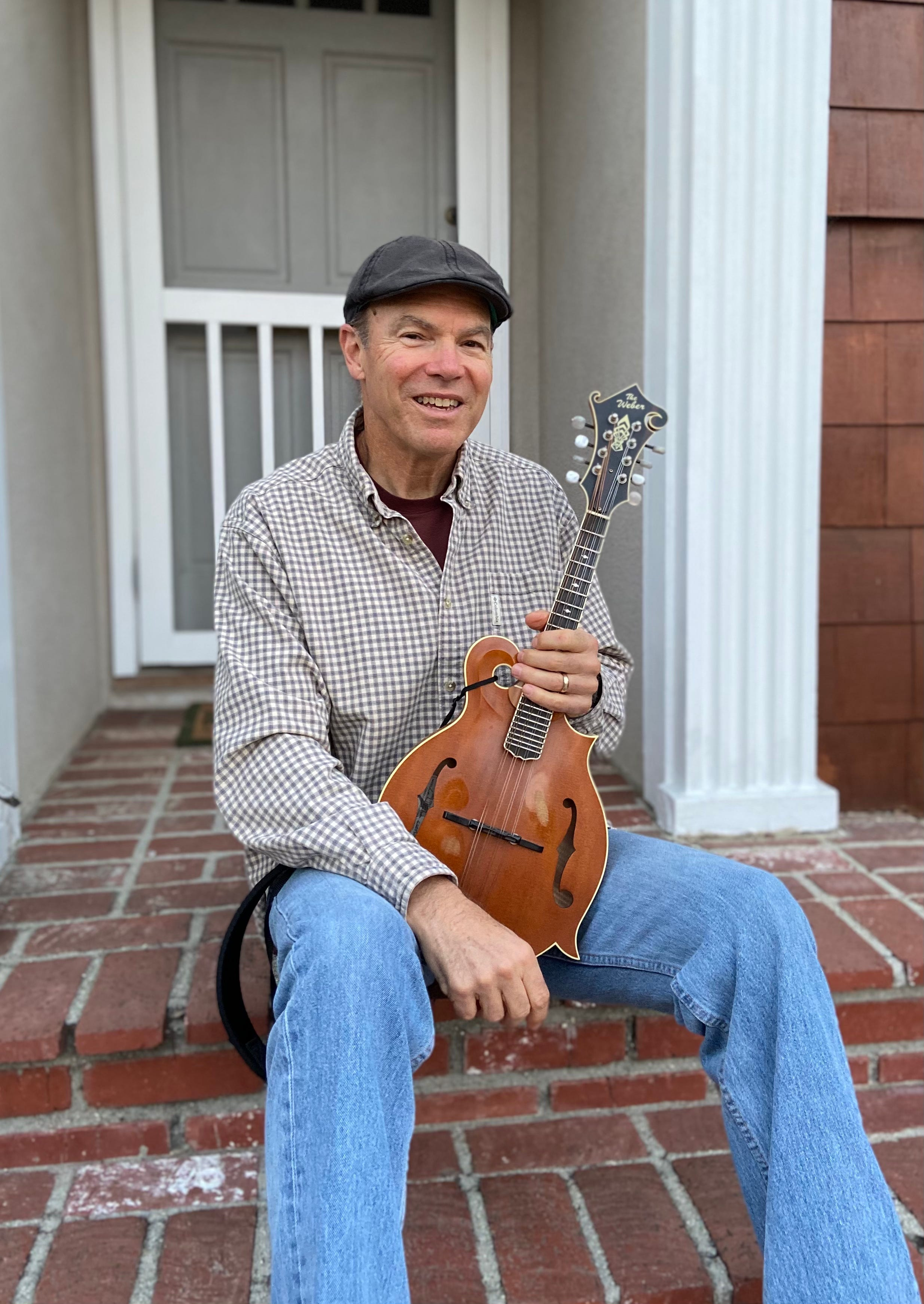 John Gahan, of Ventura, played his mandolin nightly on his front porch as COVID-19 started to spread in Ventura County.