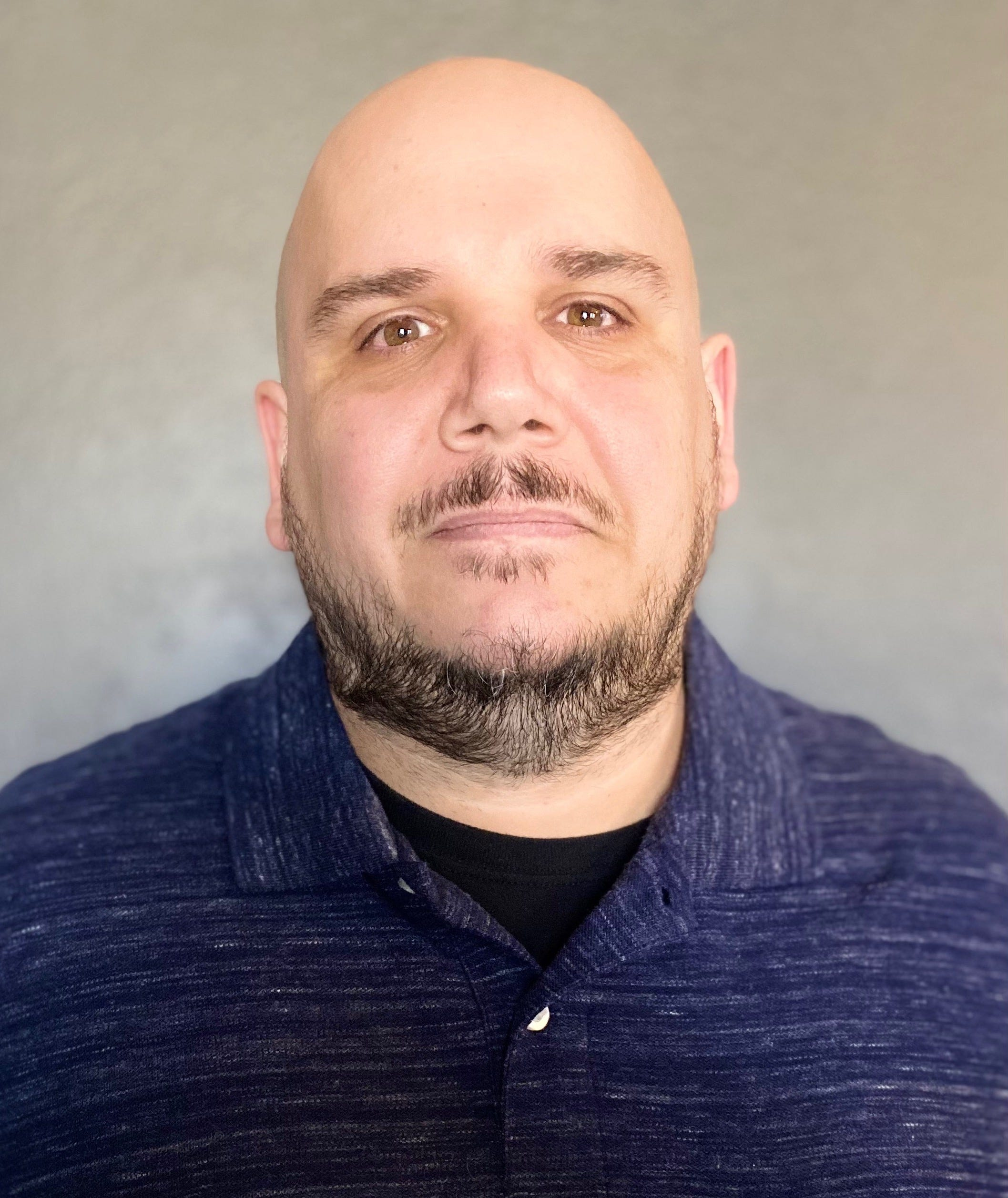 Jason Contreras, 40, of Ventura, works as a housekeeper at Ventura County Medical Center.