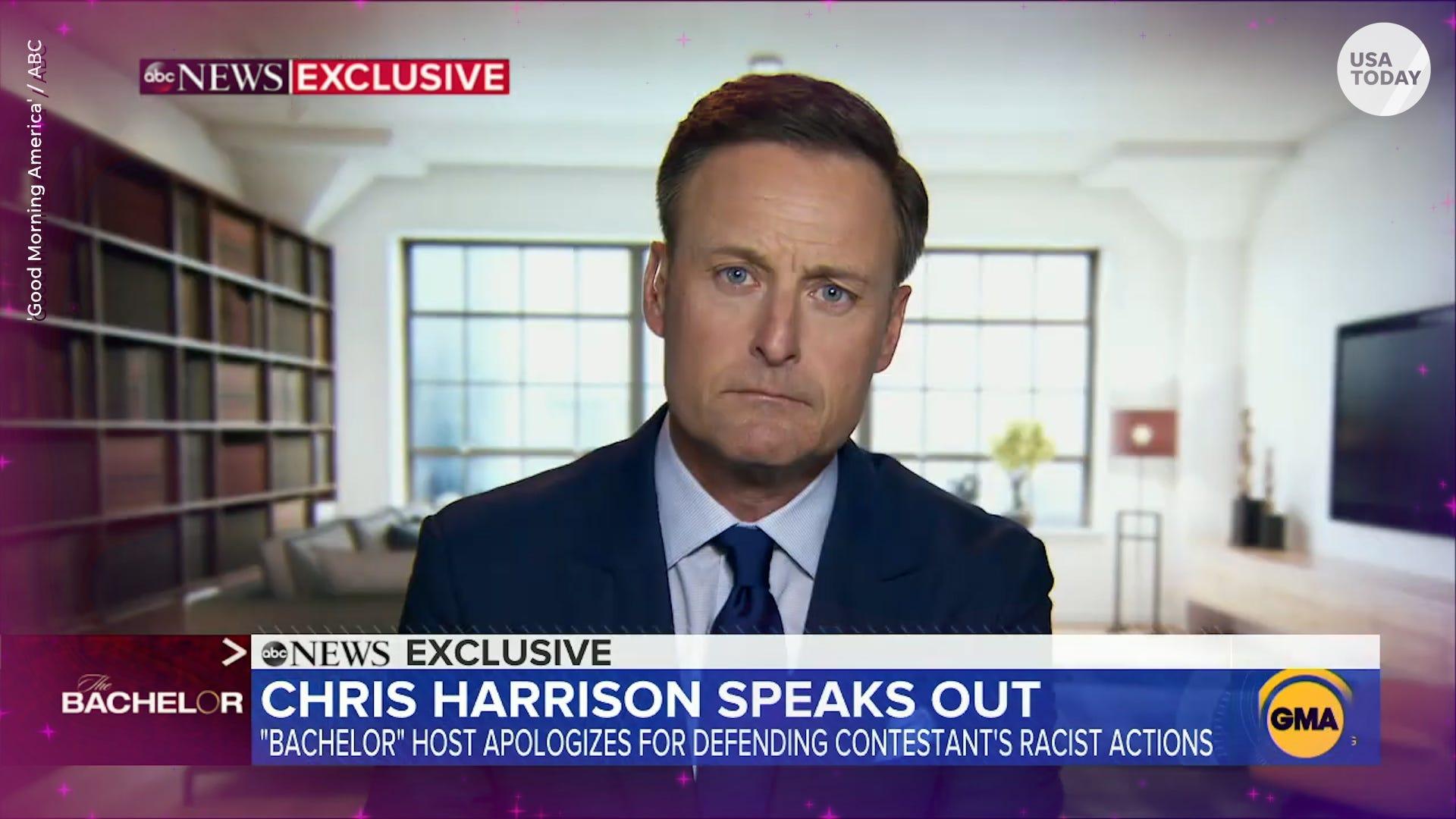 Chris Harrison tells 'Good Morning America' if he plans to return to 'The Bachelor'