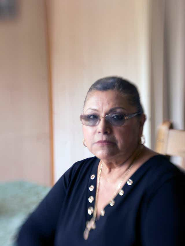 Consuelo Hermosillo says she was sterilized at a hospital without her knowledge.