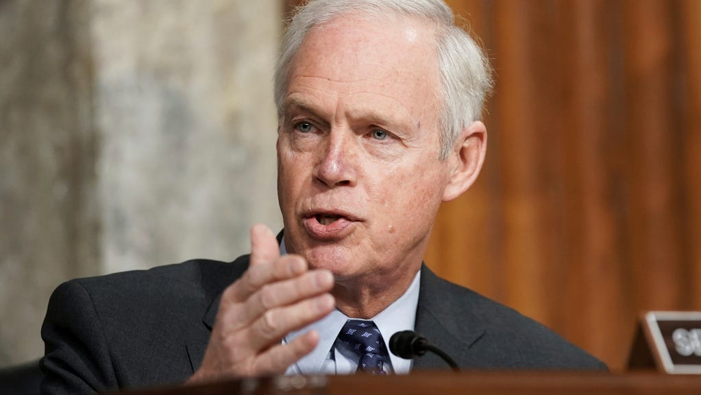 Republican Sen. Ron Johnson forces Senate to read all 628 pages of Biden's COVID bill aloud -