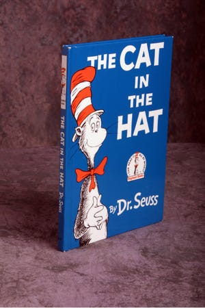 """The Cat in the Hat"" by Dr. Seuss."