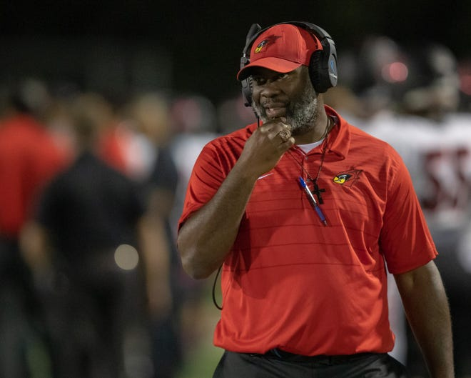 Charles Burton says the most rewarding thing about his eight-year tenure as Del Valle coach has been working with at-risk students.