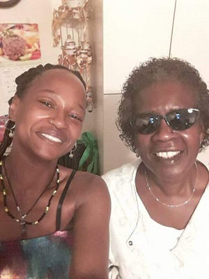 Guest chef Aroy Alli Oness pictured with her mother will be cooking up West Indian inspired cuisine this weekend at Akron's NoHi Pop-up restaurant.