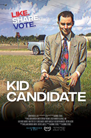 "The film poster for ""Kid Candidate"""
