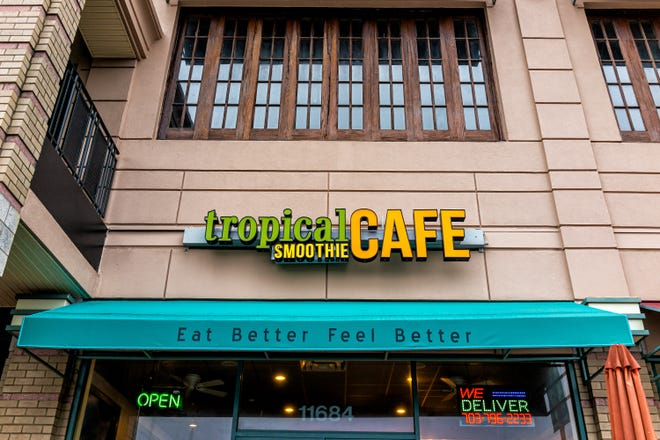 Tropical Smoothie Cafe Franchisee Dyne Hospitality is moving forward with plans to purchase a gas station and car wash near Jane Phillips Medical Center to build a location of the fast-casual eatery.