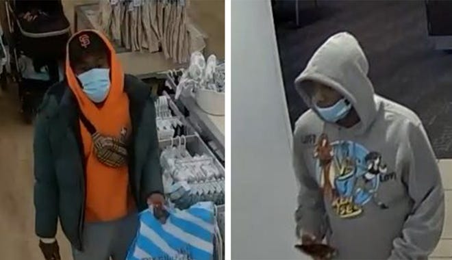 Columbus police are asking for the public's help in identifying the two suspects who exchanged gunfire in the Polaris mall on Wednesday.