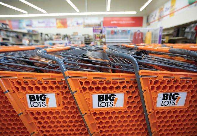 Big Lots says online sales growth helped drive its fourth quarter profit.